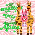 Meet My Monsters Legendary Africa Cross Over